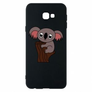 Etui na Samsung J4 Plus 2018 Koala on a tree with big eyes