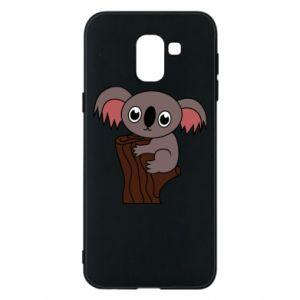 Etui na Samsung J6 Koala on a tree with big eyes