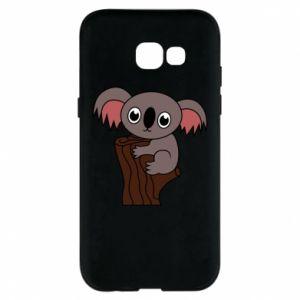 Etui na Samsung A5 2017 Koala on a tree with big eyes