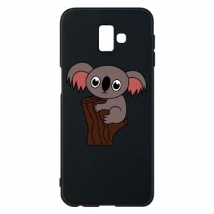 Etui na Samsung J6 Plus 2018 Koala on a tree with big eyes