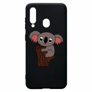 Etui na Samsung A60 Koala on a tree with big eyes