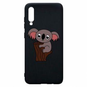 Etui na Samsung A70 Koala on a tree with big eyes