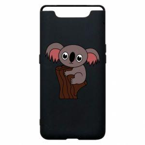 Etui na Samsung A80 Koala on a tree with big eyes