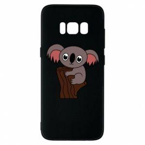 Etui na Samsung S8 Koala on a tree with big eyes