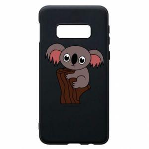 Etui na Samsung S10e Koala on a tree with big eyes