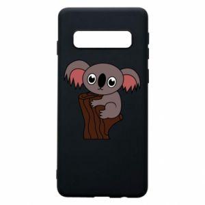 Etui na Samsung S10 Koala on a tree with big eyes