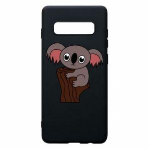 Etui na Samsung S10+ Koala on a tree with big eyes