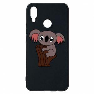 Etui na Huawei P Smart Plus Koala on a tree with big eyes