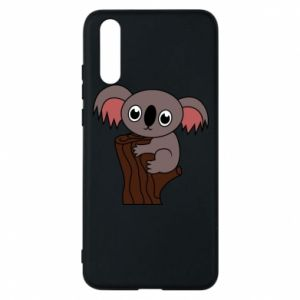 Etui na Huawei P20 Koala on a tree with big eyes