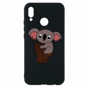 Etui na Huawei P20 Lite Koala on a tree with big eyes
