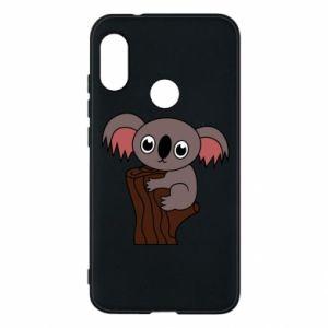 Etui na Mi A2 Lite Koala on a tree with big eyes