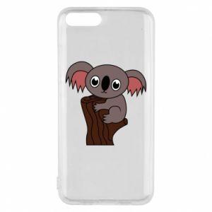 Etui na Xiaomi Mi6 Koala on a tree with big eyes