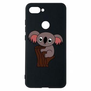 Etui na Xiaomi Mi8 Lite Koala on a tree with big eyes