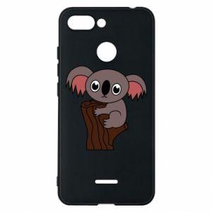 Etui na Xiaomi Redmi 6 Koala on a tree with big eyes