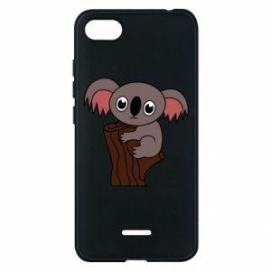 Etui na Xiaomi Redmi 6A Koala on a tree with big eyes