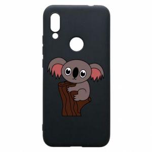 Etui na Xiaomi Redmi 7 Koala on a tree with big eyes