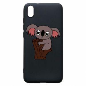 Etui na Xiaomi Redmi 7A Koala on a tree with big eyes