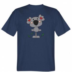 Koszulka męska Koala with hearts