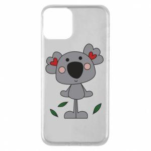 Etui na iPhone 11 Koala with hearts