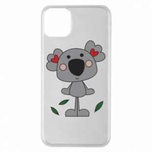 Etui na iPhone 11 Pro Max Koala with hearts