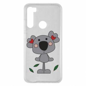 Etui na Xiaomi Redmi Note 8 Koala with hearts