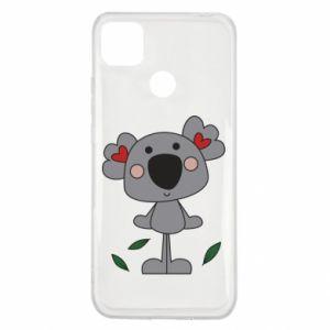 Etui na Xiaomi Redmi 9c Koala with hearts