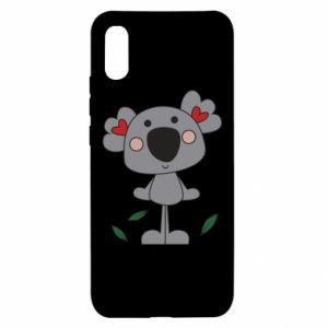 Etui na Xiaomi Redmi 9a Koala with hearts
