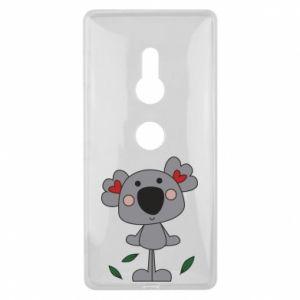 Etui na Sony Xperia XZ2 Koala with hearts