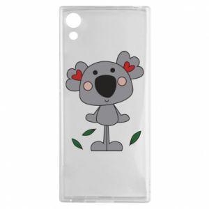 Etui na Sony Xperia XA1 Koala with hearts