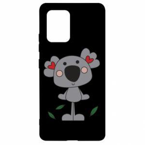 Etui na Samsung S10 Lite Koala with hearts