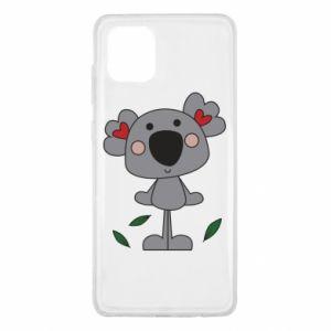 Etui na Samsung Note 10 Lite Koala with hearts