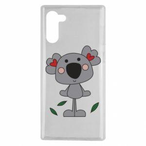 Etui na Samsung Note 10 Koala with hearts