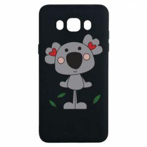 Etui na Samsung J7 2016 Koala with hearts