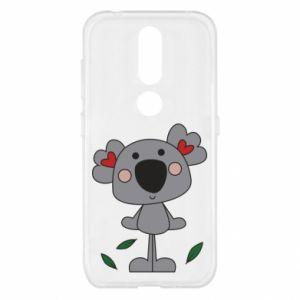 Etui na Nokia 4.2 Koala with hearts