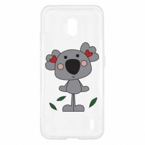 Etui na Nokia 2.2 Koala with hearts