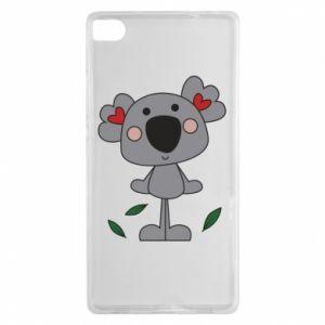 Etui na Huawei P8 Koala with hearts