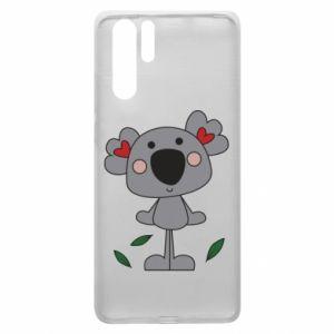 Etui na Huawei P30 Pro Koala with hearts