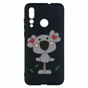 Etui na Huawei Nova 4 Koala with hearts