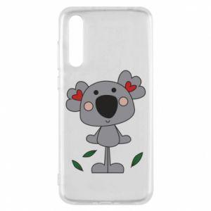 Etui na Huawei P20 Pro Koala with hearts
