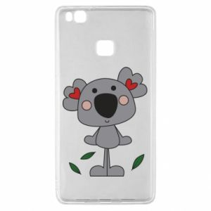 Etui na Huawei P9 Lite Koala with hearts