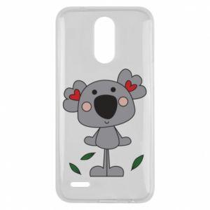 Etui na Lg K10 2017 Koala with hearts
