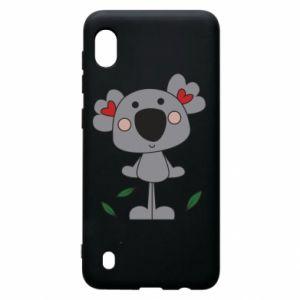 Etui na Samsung A10 Koala with hearts