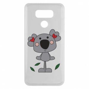 Etui na LG G6 Koala with hearts