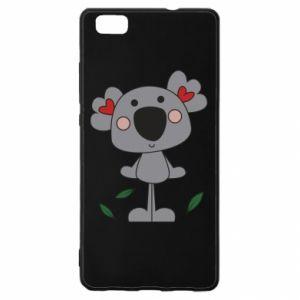 Etui na Huawei P 8 Lite Koala with hearts