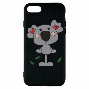 Etui na iPhone SE 2020 Koala with hearts
