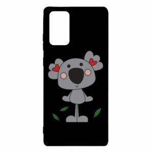 Etui na Samsung Note 20 Koala with hearts