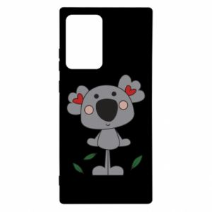 Etui na Samsung Note 20 Ultra Koala with hearts