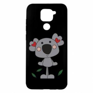Etui na Xiaomi Redmi Note 9/Redmi 10X Koala with hearts