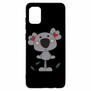 Etui na Samsung A31 Koala with hearts