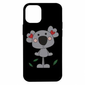 Etui na iPhone 12 Mini Koala with hearts
